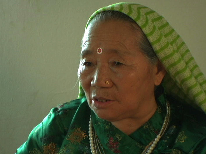 An older woman from Bhutan