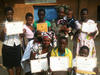 CO Participants with certificates after CO class in Kibuye, Rwanda