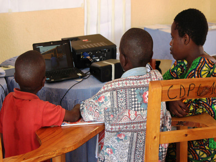 Congolese Unaccompanied Refugee Minors in CO: watching video