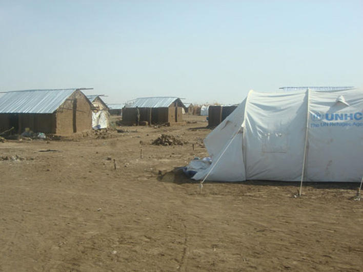 Housing in Kakuma Refugee Camp