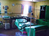 Medical screening room in Kakuma