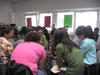 Group activity in cultural orientation class