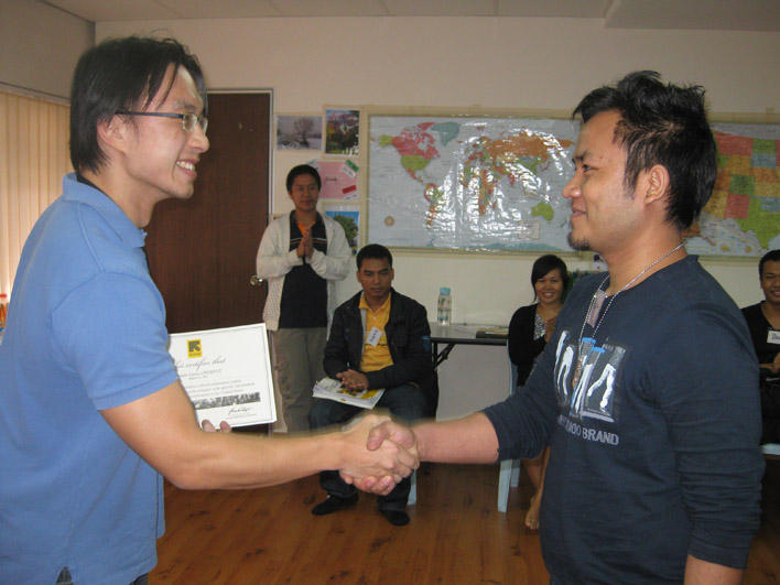 Receiving a CO certificate