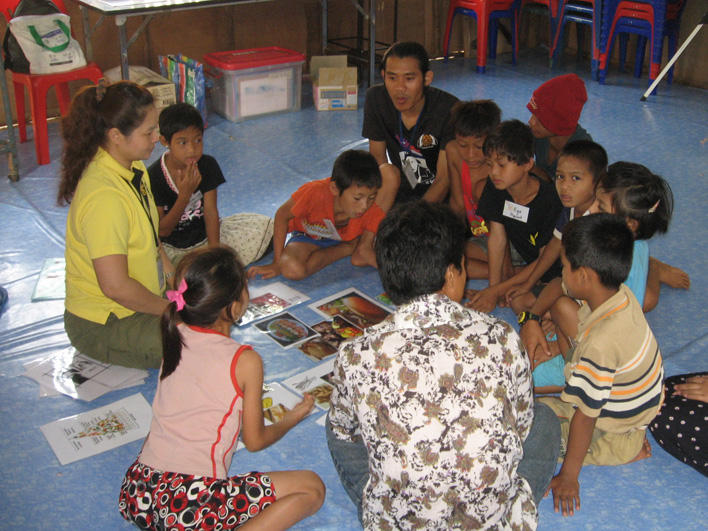 Orientation session for children